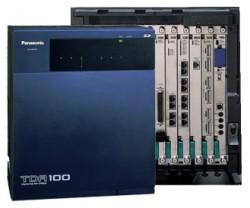 Tổng đài điện thoại Panasonic KX-TDA100D – 8 vào 64 máy lẻ