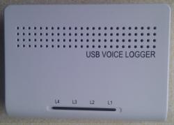 ghi âm điện thoại 4 kênh kết nối USB Tansonic – TX2006U4